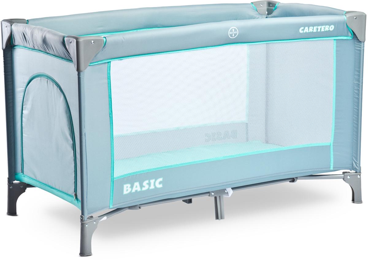 Caretero Манеж-кроватка Basic цвет серый -  Детская комната
