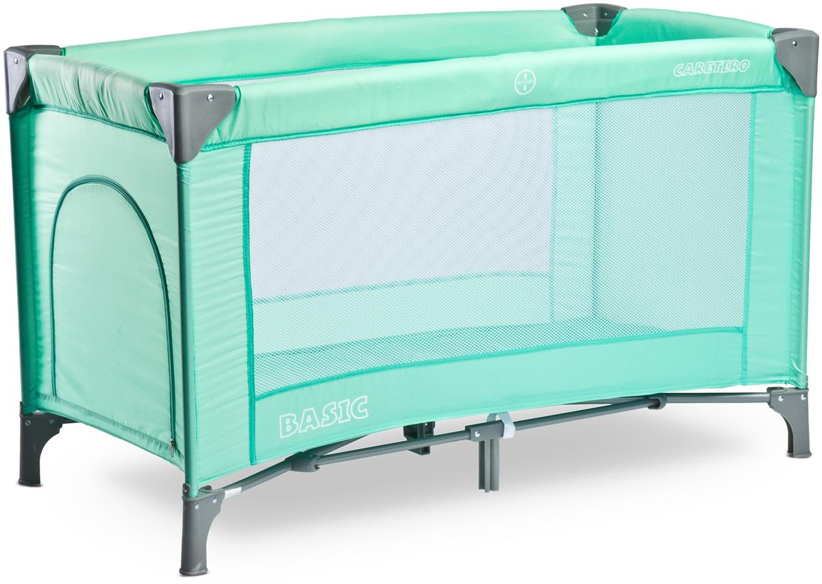 Caretero Манеж-кроватка Basic цвет зеленый -  Детская комната