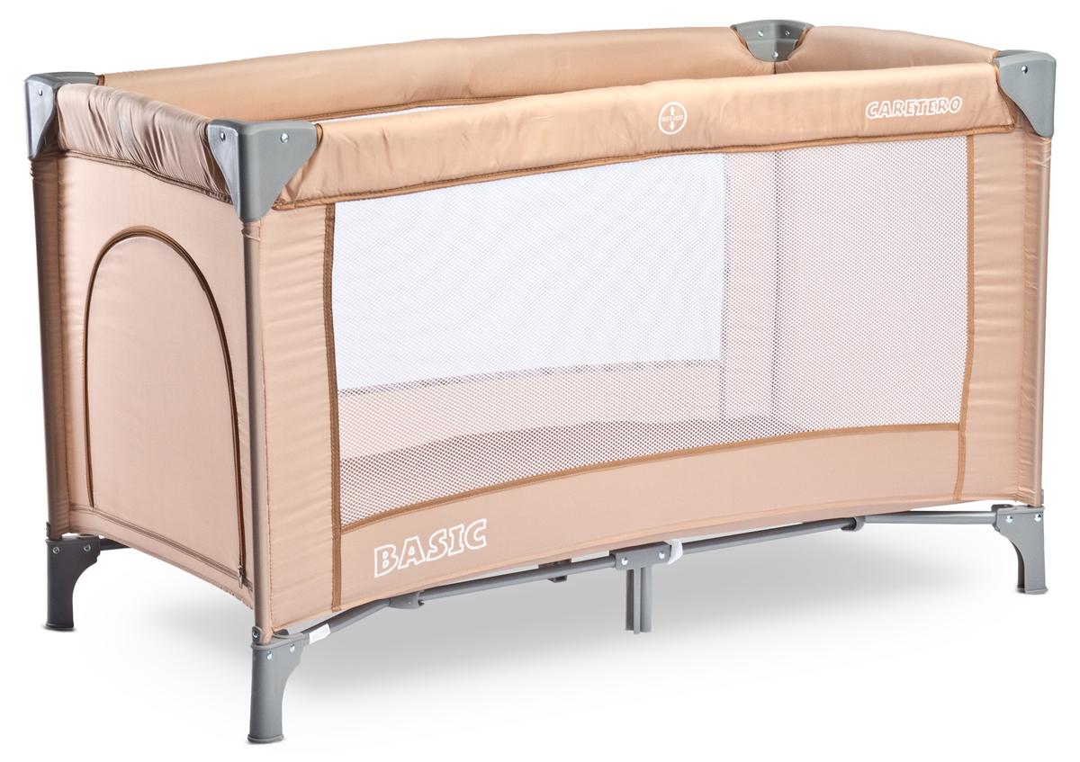 Caretero Манеж-кроватка Basic цвет бежевый - Детская комната