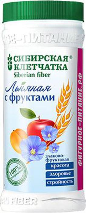 Сибирская клетчатка льняная с фруктами, 280 г самокат большая кулинарная книга городка с 6 лет
