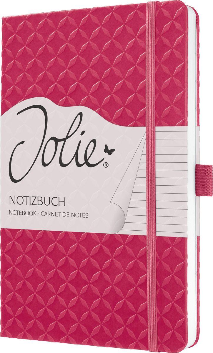 Sigel Блокнот Jolie Flair цвет фуксия 87 листов в линейку JN105JN105Серия Flair - Яркие цвета весь год.Что может быть лучше, чем планировать поездки с близкими, семейные праздники, встречи с друзьями. С красочными блокнотами Jolie Flair это еще приятнее. С ними Вам понравится делать записи и вести любые дела. Ваши заметки заслуживают красивого обрамления. Блокнот Jolie с его рифленой поверхностью - идеальный личный помощник для женщин с позитивным настроением. Используйте его как личный дневник, записывайте идеи во время мозгового штурма, составляйте список покупок, планируйте дела в офисе - делайте Jolie таким, каким он нужен именно вам. Такие детали, как порхающая бабочка на обратной стороне блокнота или форзац в стиле дизайна обложки, - это небольшие дополнительные удовольствия, которые украсят ваш день.Изысканный блокнот с рифленой поверхностью.174 страницы (в т.ч. 16 перфорированных листов) в линейку,эластичная застежка-резинка, ленточная закладка, петля для ручки, внутренний карман на внутренней стороне задней обложки с практичным слотом. Красивая деталь: форзац повторяет дизайн обложки.Размер 135х203х16 мм.