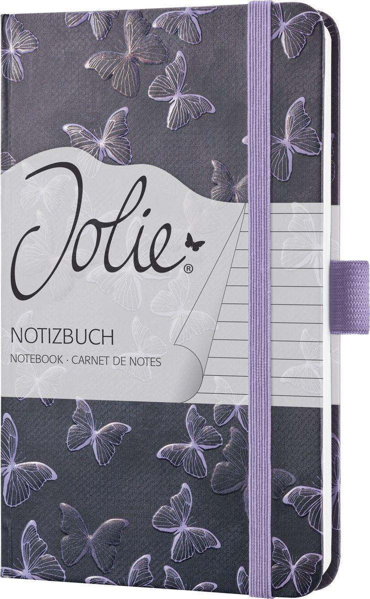 Sigel Блокнот Jolie Beauty Волшебные бабочки 87 листов в линейку