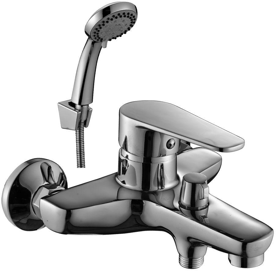 Смеситель Decoroom, для ванны, с коротким изливом, цвет: хром. DR69036DR69036Смеситель для ванны Decoroom с монолитным изливом изготовлен из цинка. - Пластиковый аэратор. - Керамический картридж 40 мм. - Переключатель с керамическими пластинами. - Аксессуары в комплекте (шланг 1,5 м, настенное крепление, 5-функциональная лейка). - Комплект для монтажа.