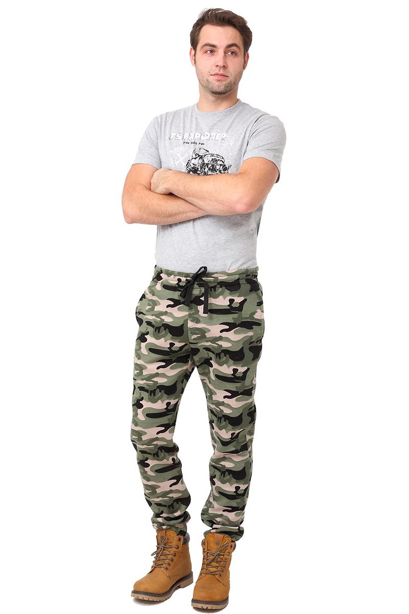 Купить Брюки мужские F5, цвет: зеленый. 277201_military 2. Размер L (50)