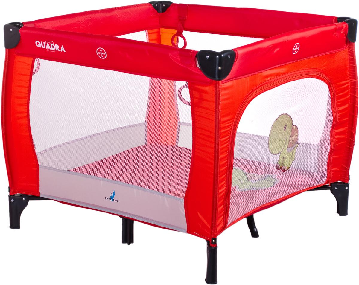 Caretero Манеж Quadra цвет красный - Детская комната