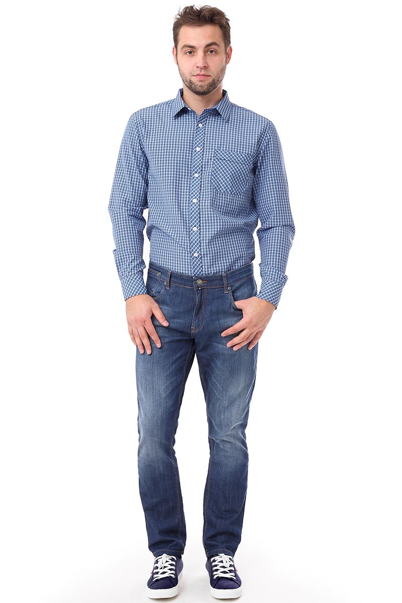Джинсы мужские F5, цвет: синий. 275013_w.dark. Размер 36-36 (50/52-36) джинсы