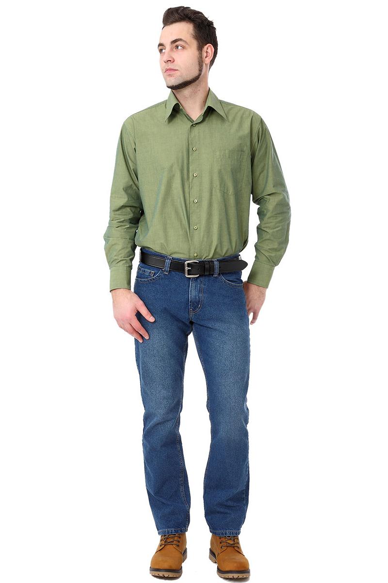 Джинсы мужские F5, цвет: синий. 275044_w.medium. Размер 34-34 (50-34)275044_w.mediumДжинсы F5 выполнены из высококачественного натурального хлопка. Джинсы застегиваются на пуговицу в поясе и ширинку на застежке-молнии, дополнены шлевками для ремня. Джинсы имеют классический пятикарманный крой: спереди модель дополнена двумя втачными карманами и одним маленьким накладным кармашком, а сзади - двумя накладными карманами.