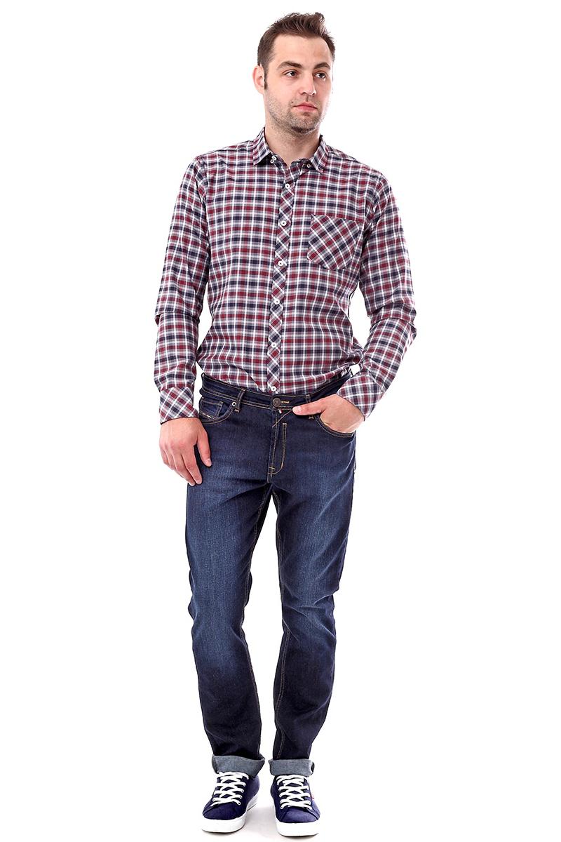 Джинсы мужские F5, цвет: синий. 279971_w.dark. Размер 33-34 (48/50-34) джинсы