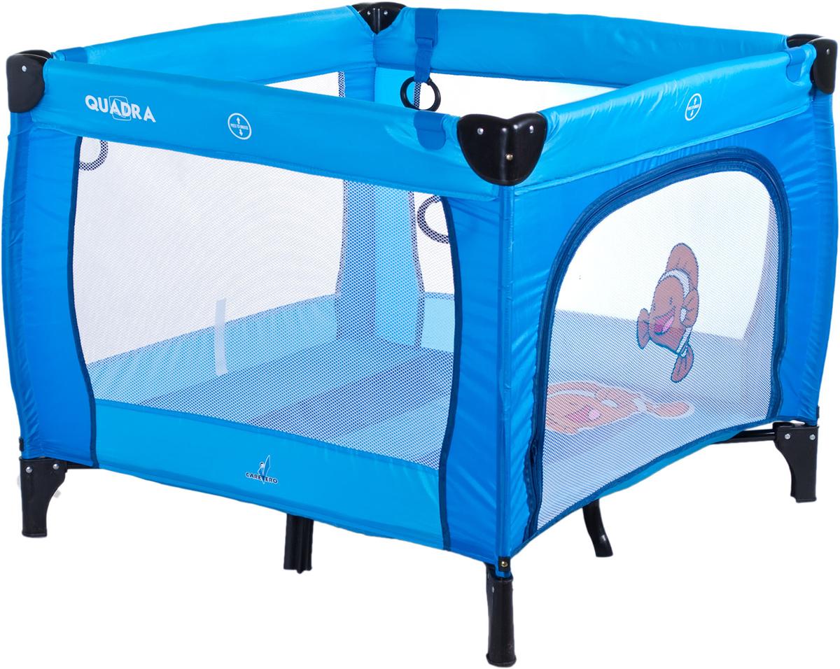 Caretero Манеж Quadra цвет синий - Детская комната