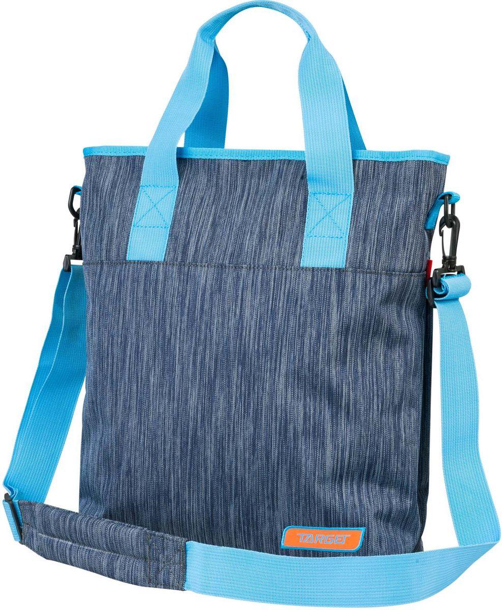 Target Сумка Титаниум цвет синий21413;21413Сумка имеет яркий рисунок и изготовлена из современных, прочных материалов. Так же есть плечевой ремень. Застежка-молния.