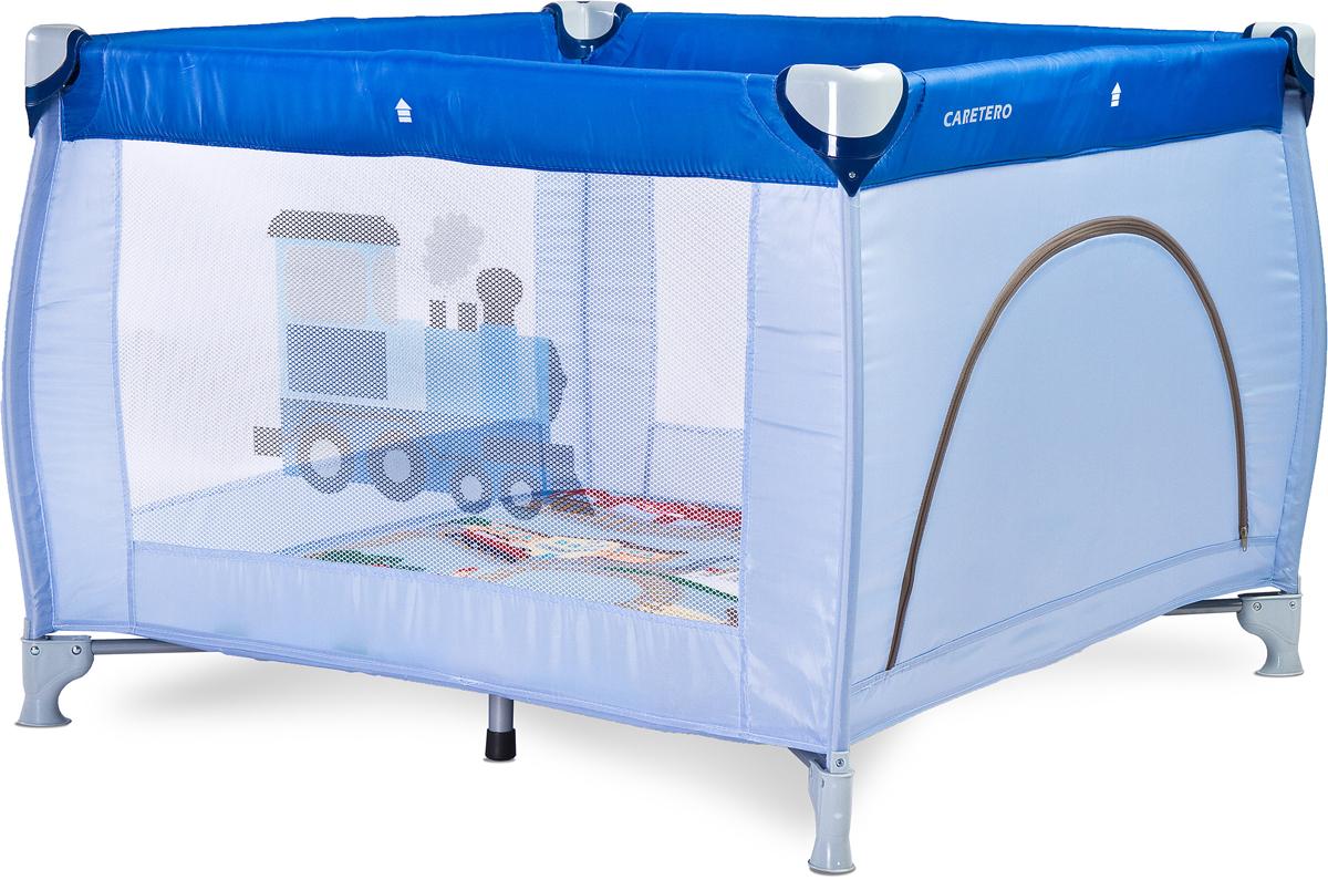 Caretero Манеж Traveler цвет голубой - Детская комната