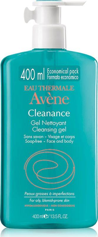 Avene Cleanance Очищающий гель, 400 мл avene cleanance лосьон очищающий матирующий 200 мл