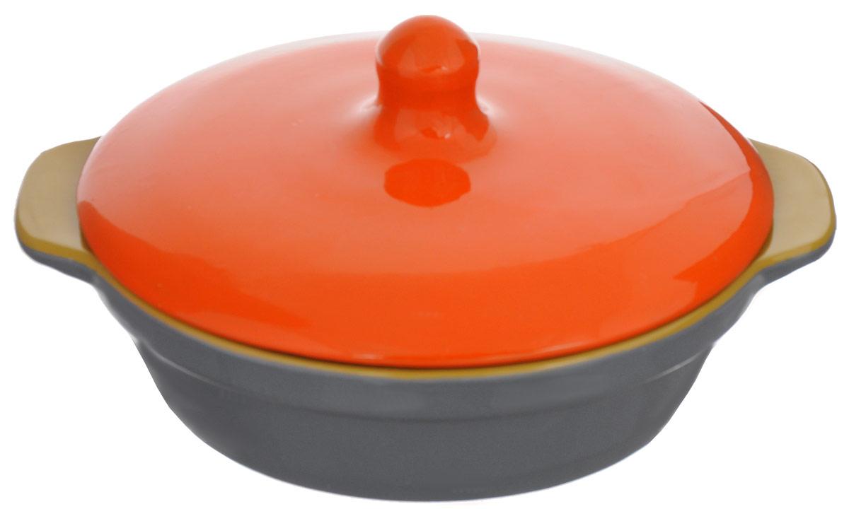 Сковорода Борисовская керамика Радуга с крышкой, цвет: оранжевый, горчичныйРАД14456737_оранжевый, горчичныйСковорода Борисовская керамика Радуга, выполненная из высококачественной керамики, разработана специально для людей, ведущих здоровый образ жизни и заботящихся о своем здоровье! Благодаря специальной пористой структуре глины, вы используете меньше масла и сохраняете максимум полезных веществ. Специальное широкое дно позволит расположитьпродукты для более качественного томления, что значительно ускорит процесс готовки. Удобная крышка имеет высокую ручку для комфортного использования. Благодаря системе двойного обжига повышается надежность изделия, а это значит, что оно будет радовать вас долгое время! Вы будете довольны покупкой, ведь сковорода Борисовская керамика Радуга очень уютно впишется на любую кухню, принося с собой красоту и немного тепла.Сковороду можно ставить в духовку и микроволновую печь.