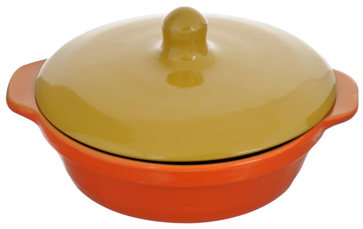 Сковорода Борисовская керамика Радуга с крышкой, цвет: серый, оранжевыйРАД14456737_серый, оранжевыйСковорода Борисовская керамика Красный, выполненная из высококачественной керамики,разработана специально для людей, ведущих здоровый образ жизни и заботящихся о своемздоровье! Благодаря специальной пористой структуре глины, вы используете меньше масла исохраняете максимум полезных веществ. Специальное широкое дно позволит расположитьпродукты для более качественного томления, что значительно ускорит процесс готовки. Удобнаякрышка имеет высокую ручку для комфортного использования. Благодаря системе двойногообжига повышается надежность изделия, а это значит, что оно будет радовать вас долгоевремя! Вы будете довольны покупкой, ведь сковорода Борисовская керамика Красный оченьуютно впишется на любую кухню, принося с собой красоту и немного тепла.Сковородуможно ставить в духовку и микроволновую печь.