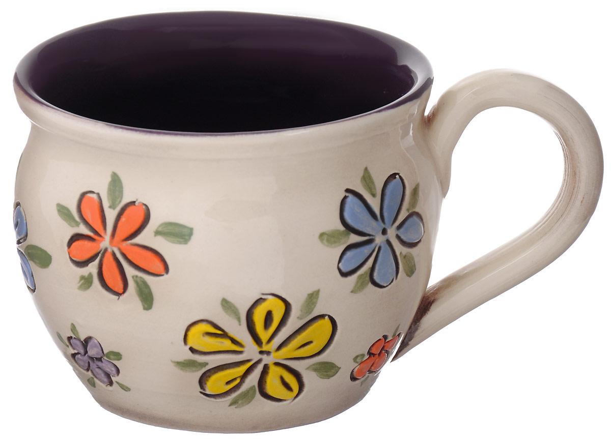 Чашка чайная Борисовская керамика цветы, цвет: белый, желтый, голубой, 300 млОБЧ00003214_белый, желтый, голубойЧашка Борисовская керамика, выполненная из высококачественнойкерамики, сочетает в себе изысканный дизайн с максимальнойфункциональностью. Чашка и размером, и декоромотвечает всем требованиям людей с широкой душой и хорошим аппетитом,поэтому прекрасно подходит как для ежедневных трапез, так и для подаркадорогим друзьям.