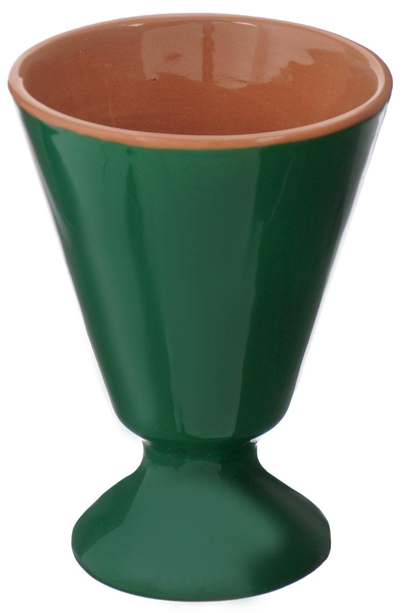 """Бокал Борисовская керамика """"Радуга"""" изготовлен из высококачественное керамики и имеет глазурованное покрытие. Благодаря такому  материалу напитки дольше сохраняют свою температуру. Изысканный дизайн придется по вкусу и ценителям классики и тем, кто предпочитает современный стиль.  Можно использовать в духовке и микроволновой печи.  Высота бокала: 8,5 см. Диаметр: 7 см. Объем: 0,1 л."""