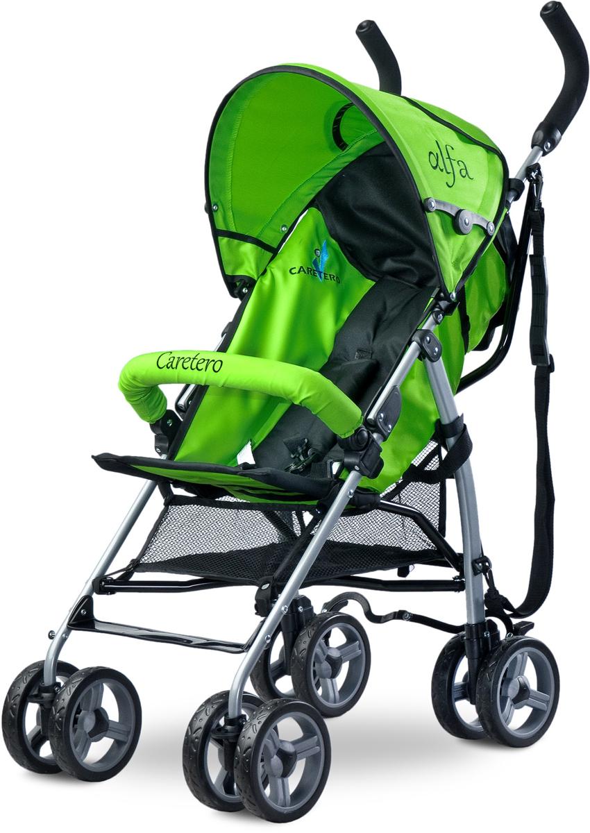 Caretero Коляска-трость Alfa цвет зеленый -  Коляски и аксессуары