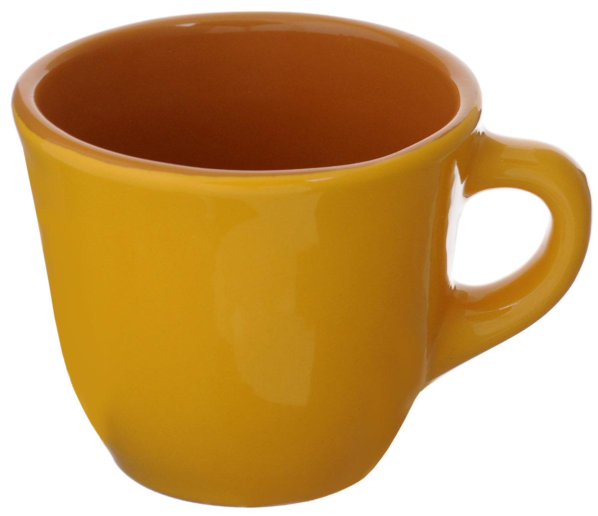 Чашка чайная Борисовская керамика Радуга, цвет: желтый, 300 млРАД00000632_желтыйЧашка Борисовская керамика, выполненная из высококачественнойкерамики, сочетает в себе изысканный дизайн с максимальнойфункциональностью. Чашка Борисовская керамика и размером, и декоромотвечает всем требованиям людей с широкой душой и хорошим аппетитом,поэтому прекрасно подходит как для ежедневных трапез, так и для подаркадорогим друзьям.