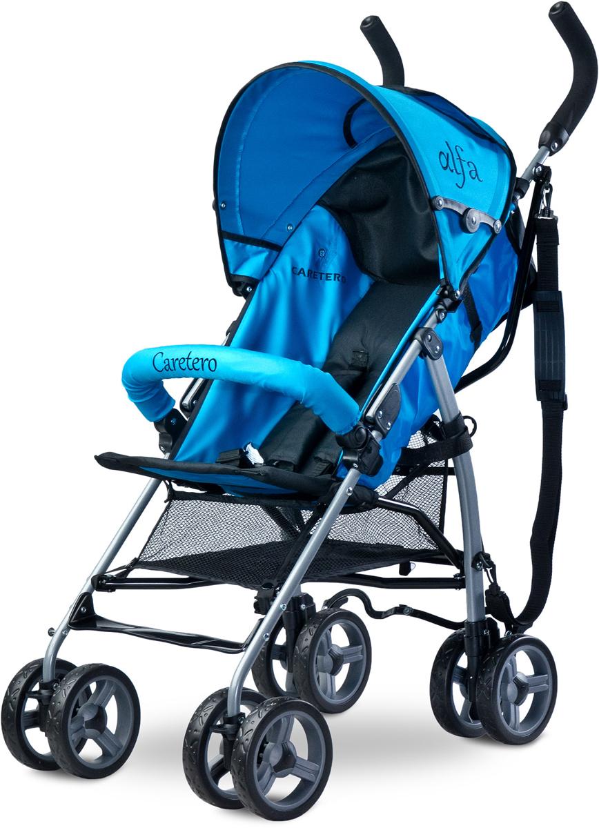 Caretero Коляска-трость Alfa цвет синий -  Коляски и аксессуары