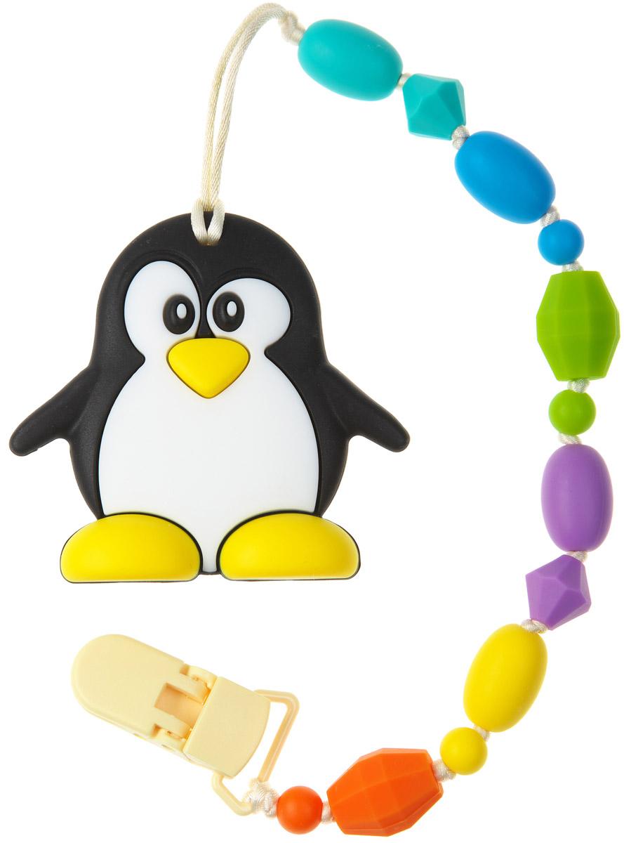 МАМидея Держатель с прорезывателем Пингвин - Все для детского кормления