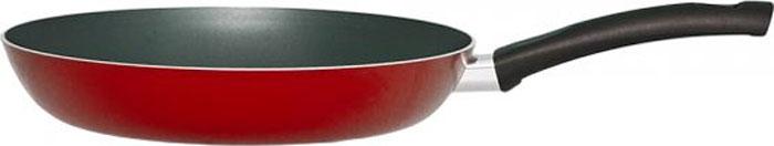 """Сковорода """"Cook & Love Red"""" изготовлена из алюминия .  Черное антипригарное покрытие Whitford Она имеет толстое идеально гладкое дно, которое обеспечивает равномерное распределение тепла. Сковорода оснащена удобной бакелитовой ручкой с отверстием для подвешивания.Подходит для использования на стеклокерамических, газовых и электрических плитах, а также сковороду можно мыть в посудомоечной машине."""