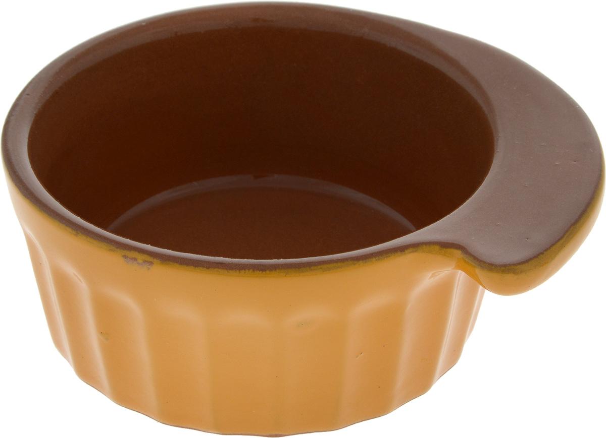 Кокотница Борисовская керамика Ностальгия, 200 мл. РАД14457899РАД14457899_темно-зеленый, коричневыйГраненая форма кокотницы Борисовская керамика Ностальгия никого не оставляет равнодушным. Она выполнена из высококачественнойкерамики. В кокотнице можно удобно запекать кексы, делать жульены. Она отлично подойдет для сервировки стола и подачи блюд. Кокотницуможно использовать как порционно, так и для подачи приправ, острых соусов и другого. Подходит для использования в микроволновой печи и духовке.
