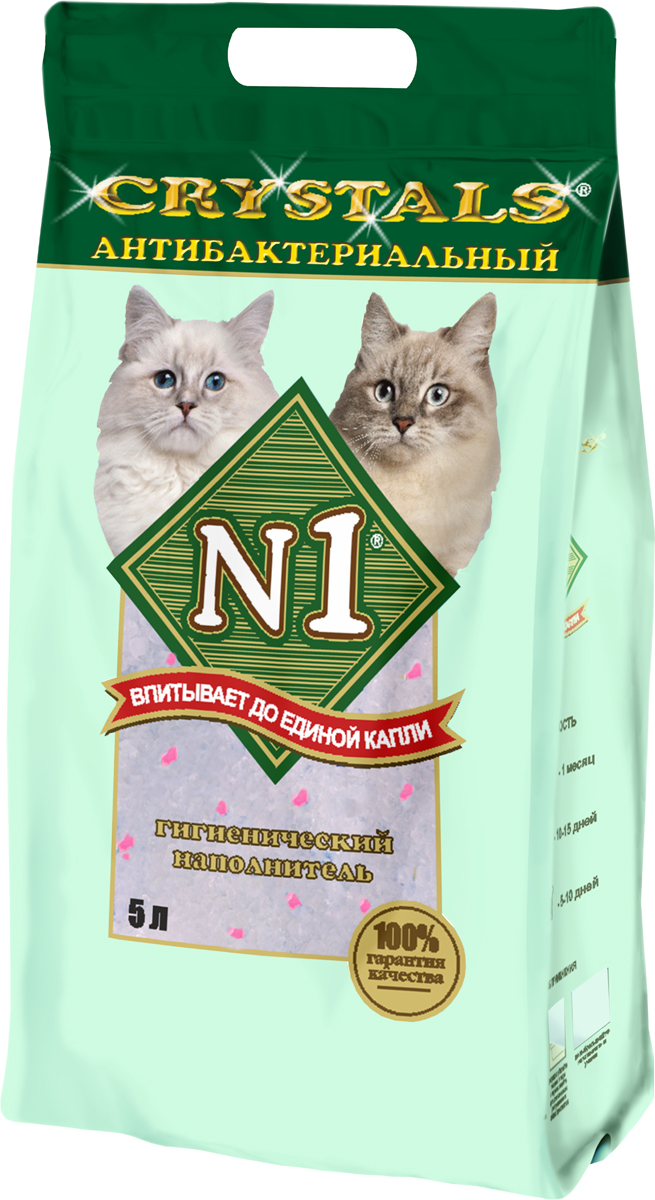 Наполнитель для кошачьего туалета №1