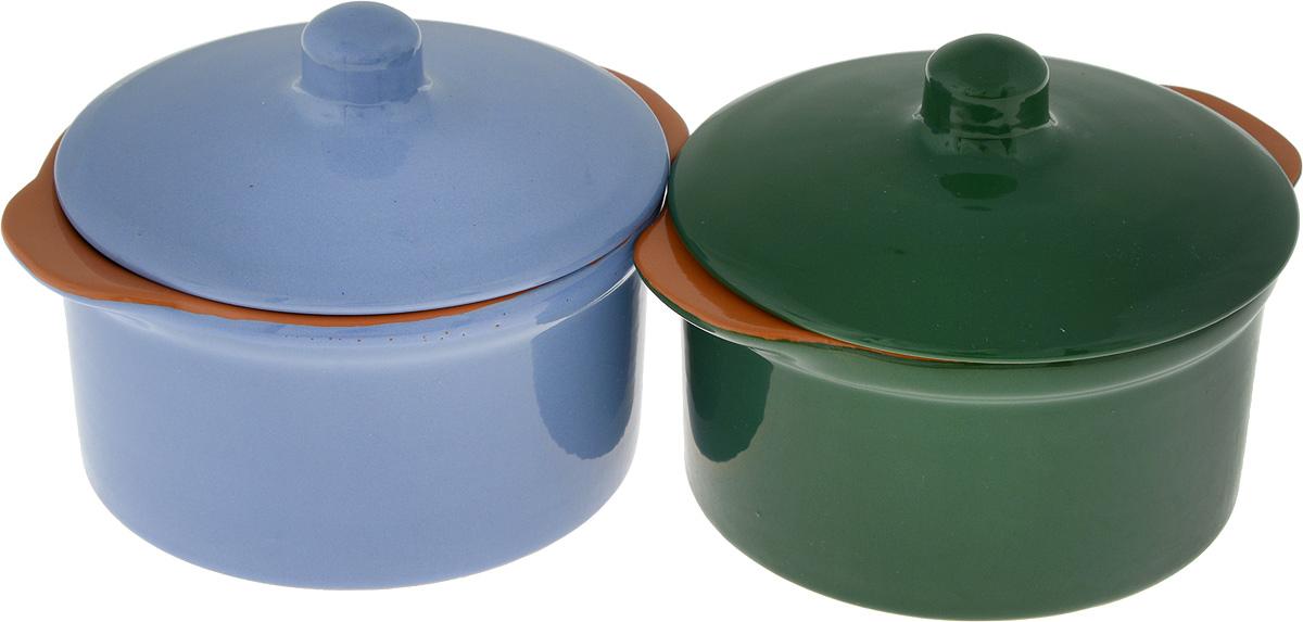 Кастрюля Борисовская керамика Радуга, 500 мл, 4 предмета, цвет: синий, коричневыйРАД14456738_синий, коричневыйКастрюля изготовлена из керамики, оно предотвращает прилипание пищи и обеспечивает превосходные результаты Посуда имеет элегантныйкорпус и привлекательный внешний вид.