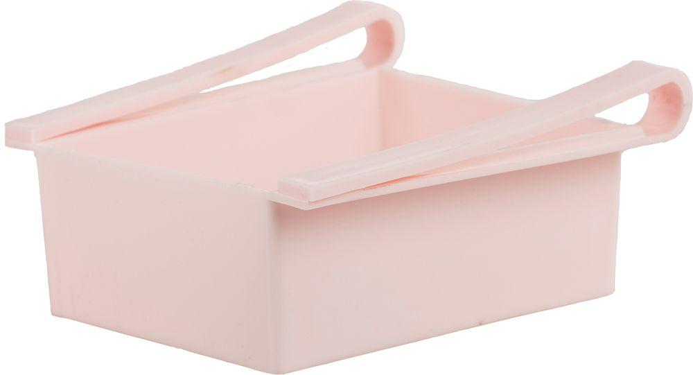 Контейнер для холодильника Homsu Для кухни, цвет: розовый, 16 x 15 x 7 смHOM-693Контейнер удобен и прост в применении, он крепится на полку холодильника и функционирует как ящик. Имеет 5 отверстий на дне, благодаря чему, хорошо вентилируется и надолго сохраняет свежесть продуктов. Идеально подходит для хранения фруктов, косметических средств или остатков пищи.