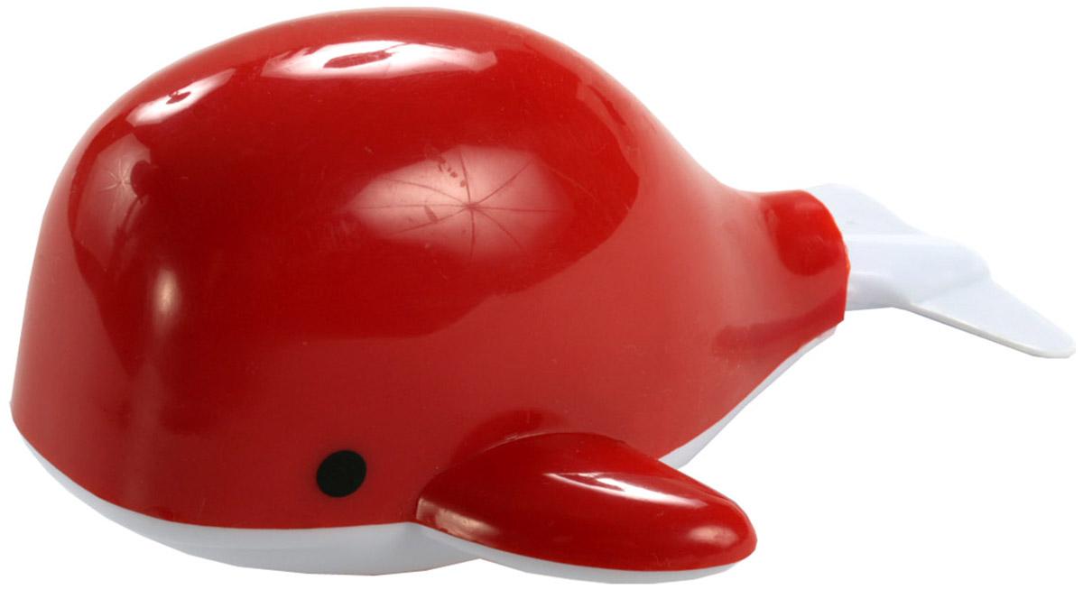 Bampi Заводная игрушка Вместе веселей Морские обитатели Кит цвет красный игрушка