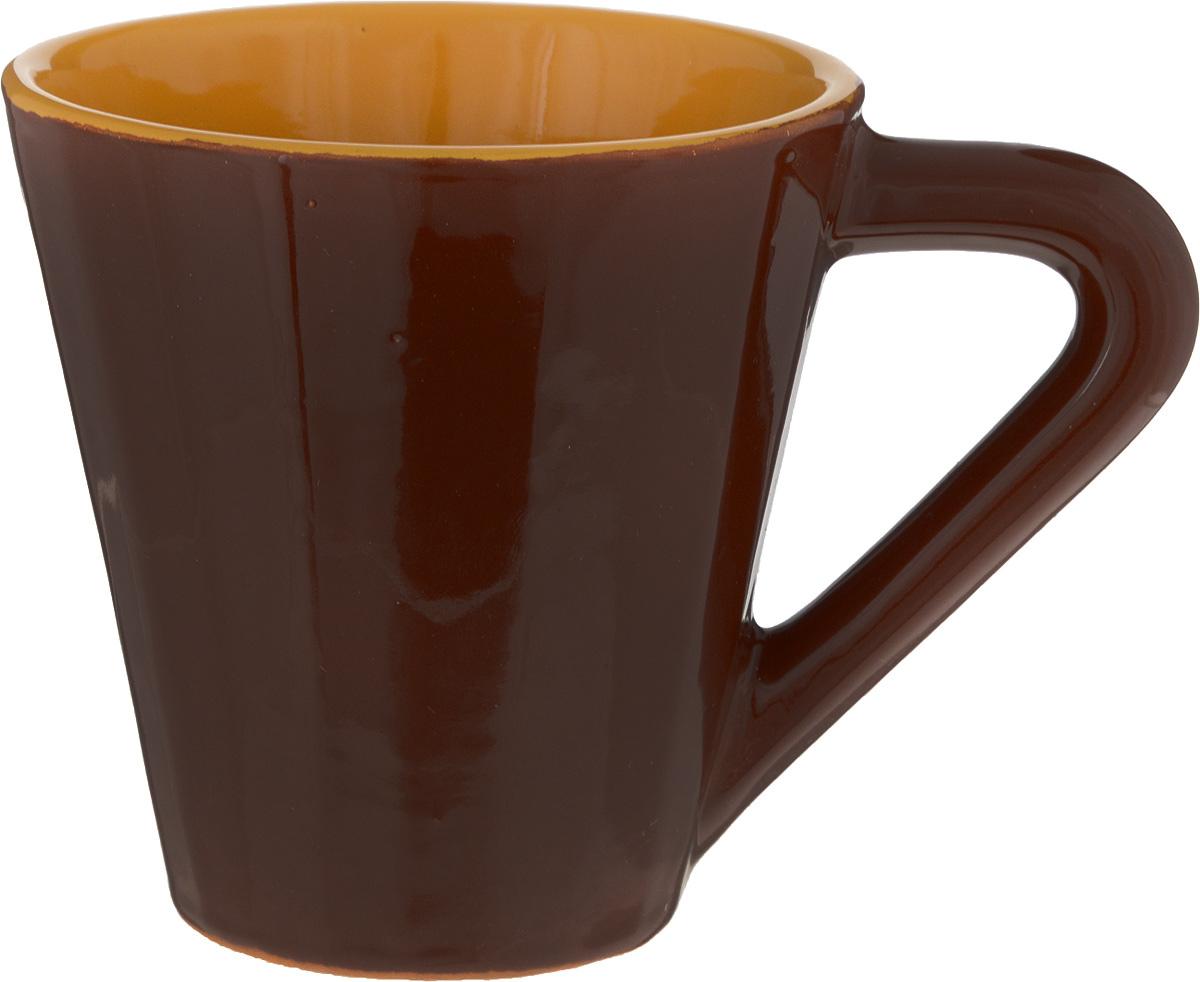 Чашка чайная Борисовская керамика Ностальгия, 300 млРАД14458084_коричневыйЧашка Борисовская керамика, выполненная из высококачественной керамики, сочетает в себе изысканный дизайн с максимальнойфункциональностью. Чашка предназначена для повседневного использования, а также станет отличным подарком.