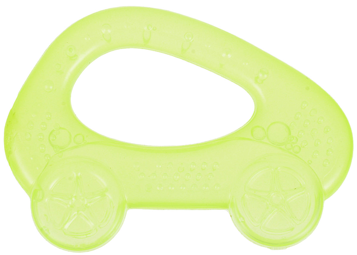 Пластмастер Прорезыватель охлаждающий Машинка цвет желтый