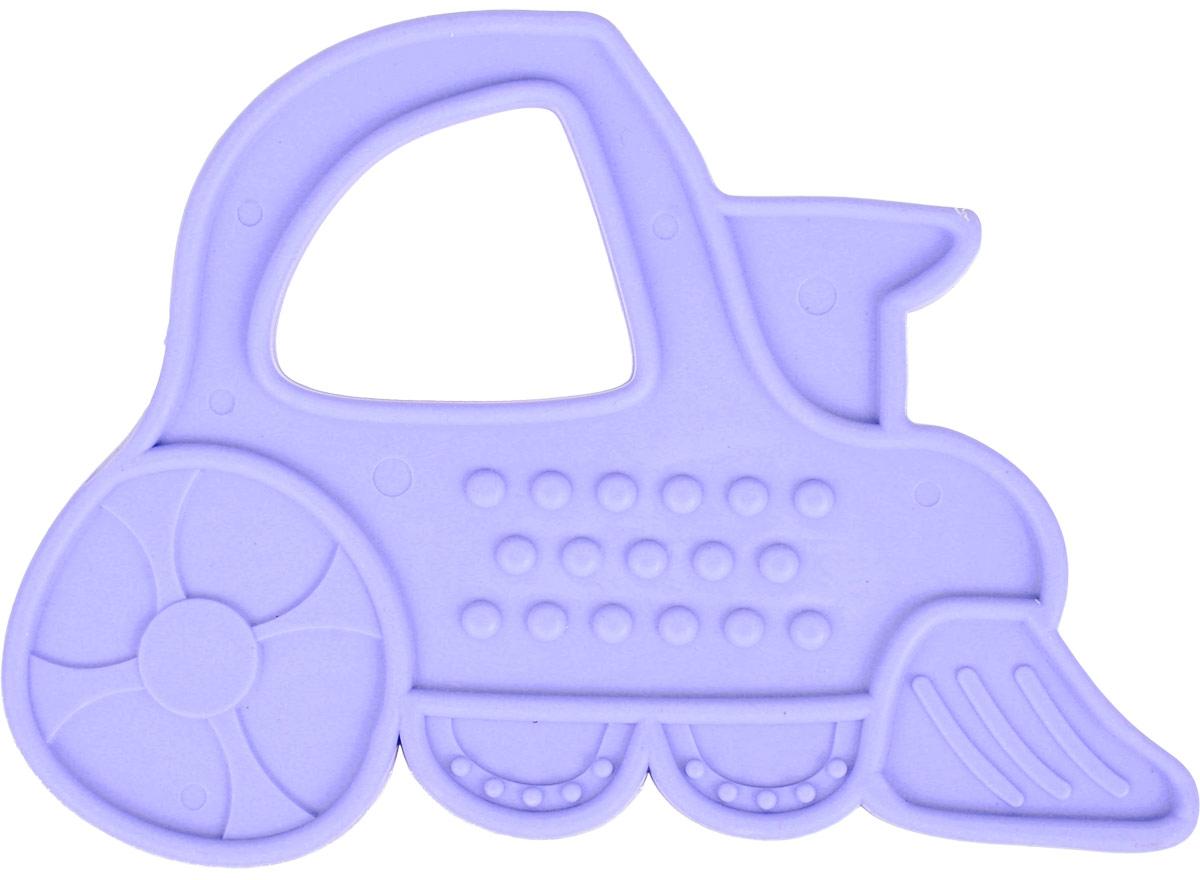 Пластмастер Прорезыватель Паровозик цвет сиреневый