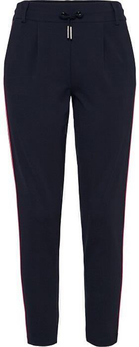 Брюки женские Only, цвет: черный. 15150484_Black. Размер M (44)15150484_BlackСтильные брюки Only станут отличным дополнением гардероба в весенне-летний период. Брюки изготовлены из приятного на ощупь эластичного материала, в составе которого преобладает вискоза. Модель силуэта морковь (свободные на бедрах, с зауженными к низу штанинами) и стандартной посадки на талии имеют широкий пояс на мягкой резинке, дополнительно регулируемый шнурком. Модель дополнена шлевками для ремня.