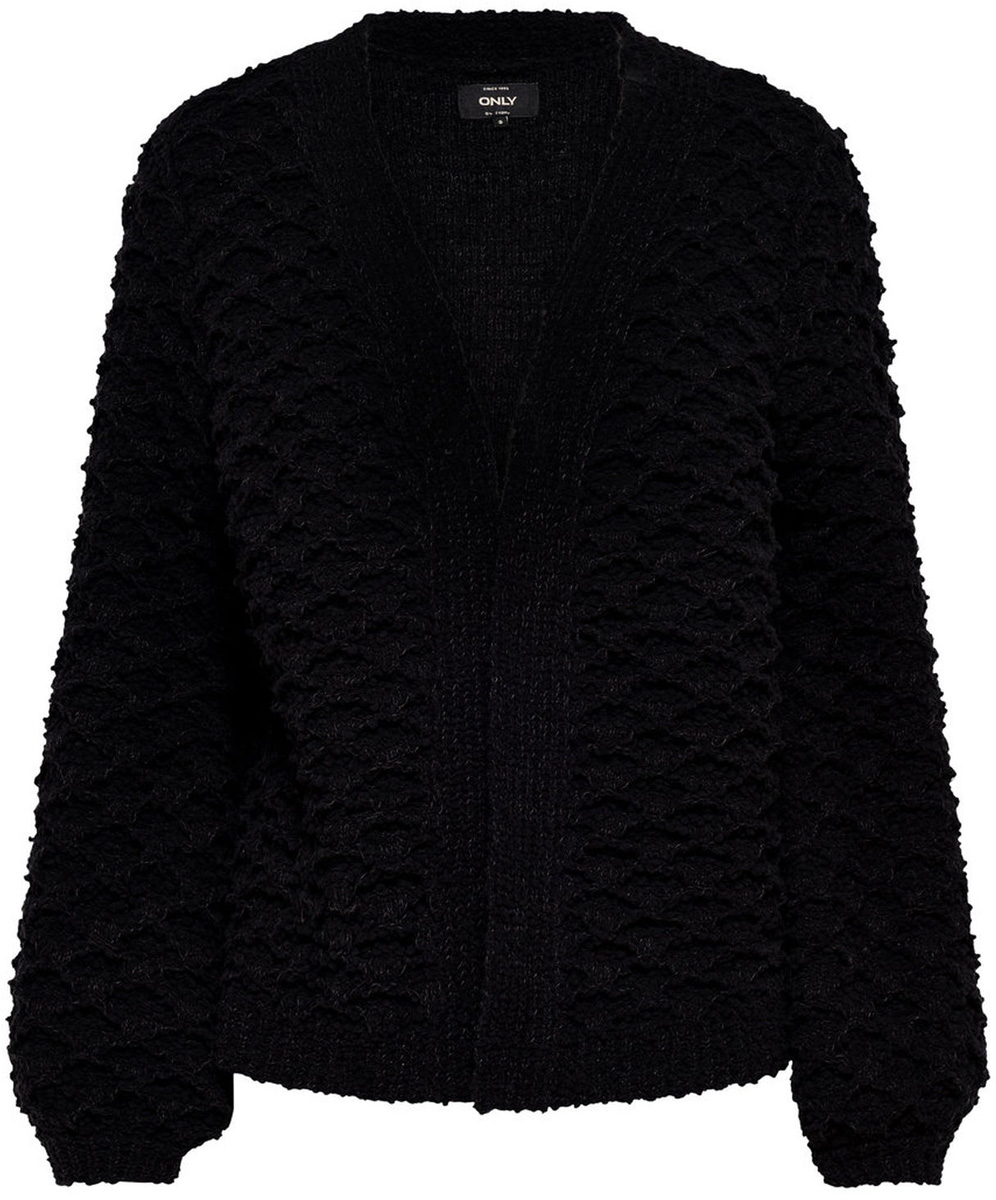 Кардиган женский Only, цвет: черный. 15149372_Black. Размер XS (40)