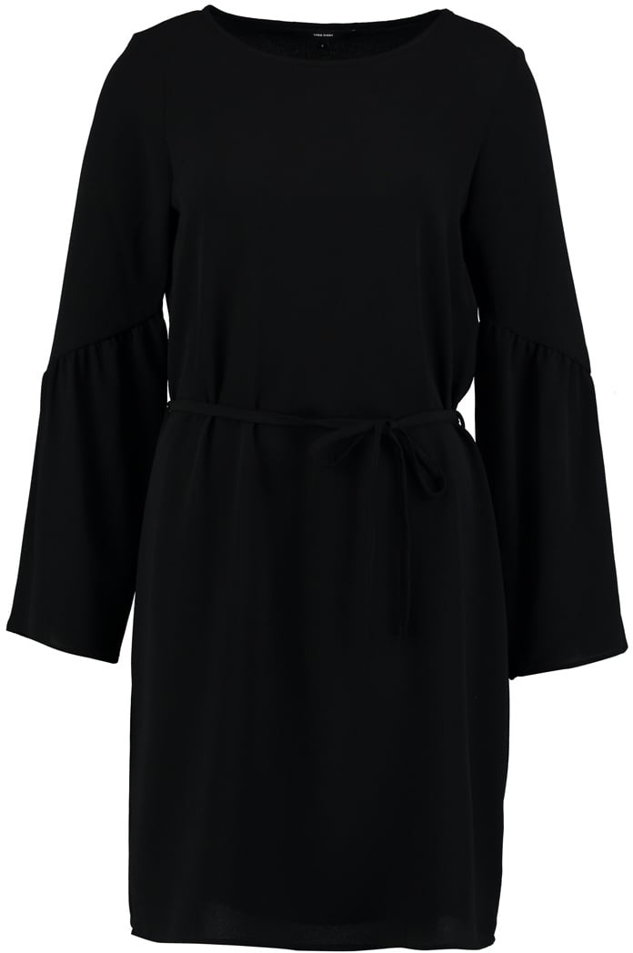 Платье Vero Moda, цвет: черный. 10190660_Black. Размер M (44) балетки vero moda vero moda ve389awpqi43