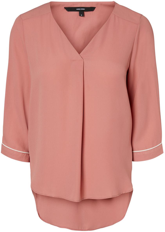Блузка женская Vero Moda, цвет: розовый. 10190403_Old Rose. Размер  (42)