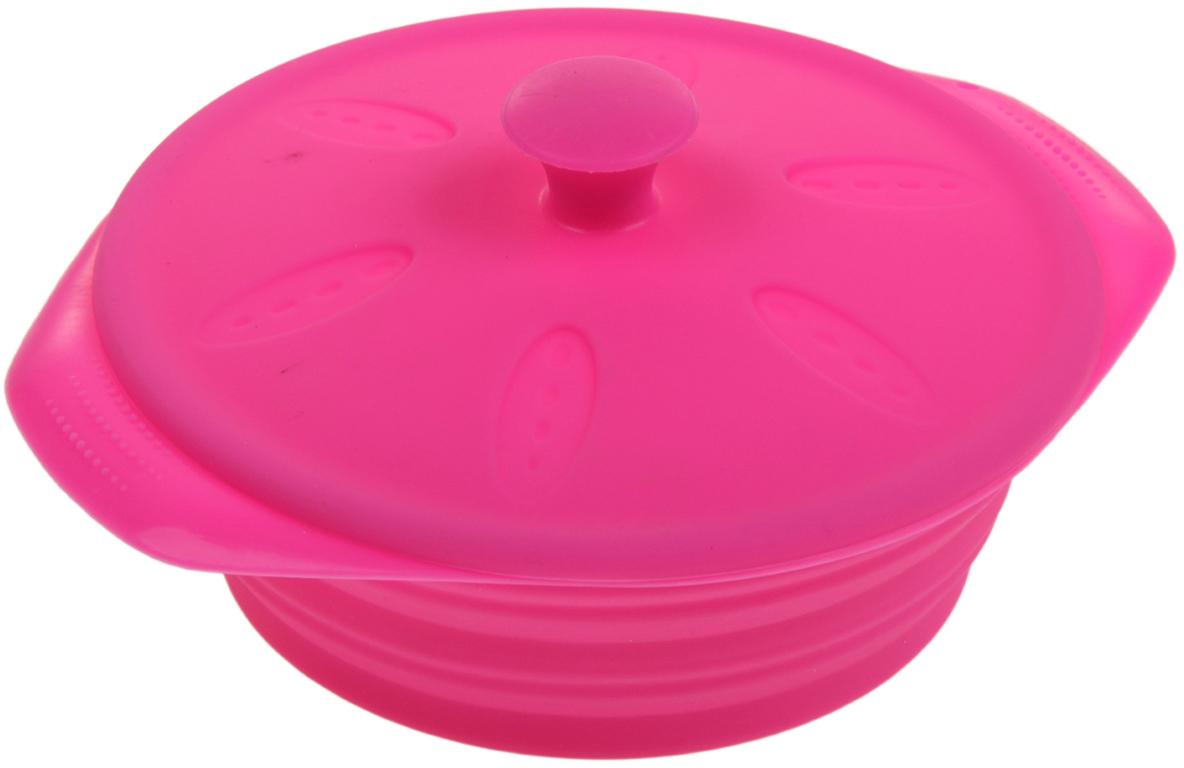 Форма для выпечки из силикона - современное решение для практичных и радушных хозяек. Оригинальный предмет позволяет готовить в духовке   любимые блюда из мяса, рыбы, птицы и овощей, а также вкуснейшую выпечку. Почему это изделие должно быть на кухне: · блюдо сохраняет нужную форму и легко отделяется от стенок после приготовления; · высокая термостойкость (от -40 до 230 ?) позволяет применять форму в духовых шкафах и морозильных камерах; · небольшая масса делает эксплуатацию предмета простой даже для хрупкой женщины; · силикон пригоден для посудомоечных машин; · высокопрочный материал делает форму долговечным инструментом; · при хранении предмет занимает мало места.  Советы по использованию формы: · перед первым применением промойте предмет теплой водой. · в процессе приготовления используйте кухонный инструмент из дерева, пластика или силикона. · перед извлечением блюда из силиконовой формы дайте ему немного остыть, осторожно отогните края предмета. Готовьте с удовольствием!     Как выбрать форму для выпечки – статья на OZON Гид.