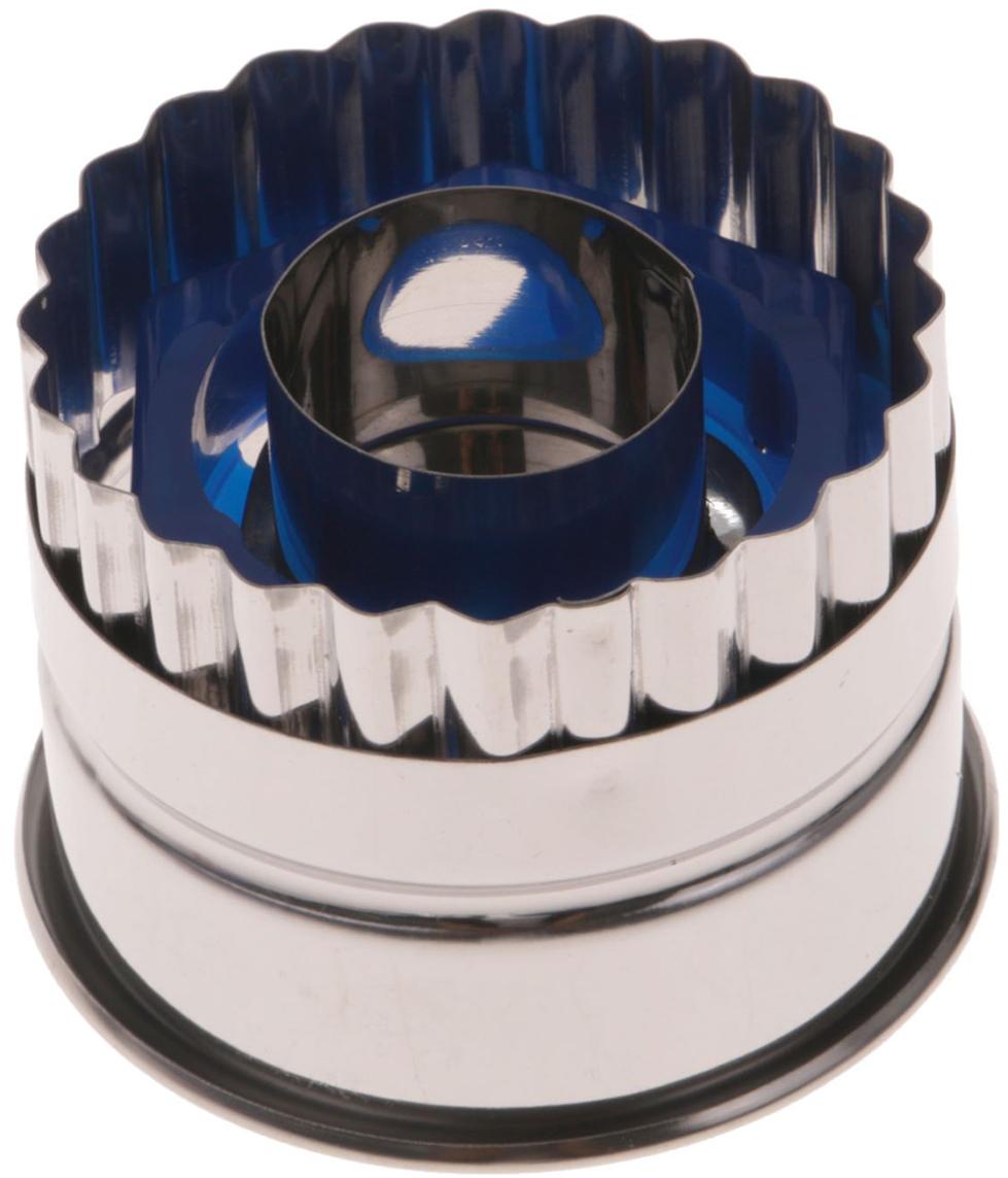 Набор форм для вырезания печенья Доляна Стандарт, 5 х 4 см, 7 шт2407471Металлические формы для вырезания помогут вам порадовать домашних вкусным печеньем и другой фигурной выпечкой. Подготовьте слой теста нужной толщины и нарежьте его на аккуратные кусочки, используя изделия. Благодаря быстрому распределению тепла по форме лакомство получится равномерно пропеченным и с аппетитной корочкой. Другие особенности форм: долговечность, легкость мойки, стойкость к запахам.