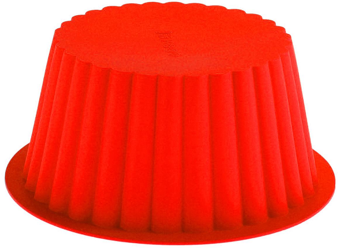 Форма для выпечки из силикона - современное решение для практичных и радушных хозяек.  Оригинальный предмет позволяет готовить в духовке любимые блюда, а также вкуснейшую  выпечку.  Особенности:  - блюдо сохраняет нужную форму и легко отделяется от стенок после приготовления;    - высокая термостойкость (от -40°С до +230°С) позволяет применять форму в духовых шкафах и  морозильных камерах;   - небольшая масса делает эксплуатацию предмета простой даже для хрупкой женщины; - силикон пригоден для посудомоечных машин; - высокопрочный материал делает форму долговечным инструментом; - при хранении предмет занимает мало места.   Перед первым применением промойте предмет теплой водой. В процессе приготовления    используйте кухонный инструмент из дерева, пластика или силикона. Перед извлечением блюда    из силиконовой формы дайте ему немного остыть, осторожно отогните края предмета.  Как  выбрать форму для выпечки - статья на OZON Гид.