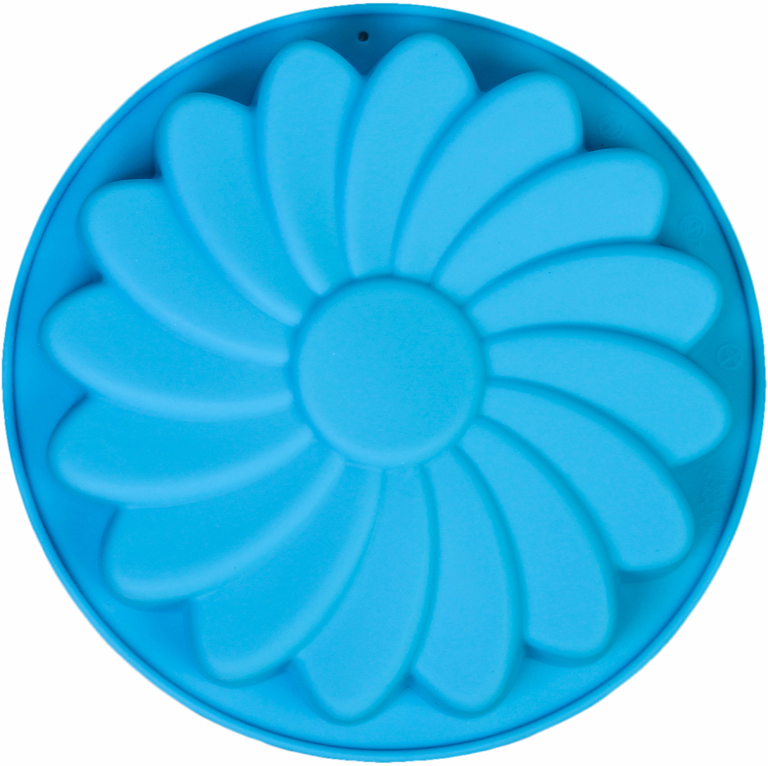 Форма для выпечки Доляна Ромашка, цвет: голубой, 19 х 3,3 см2570354_голубойОт качества посуды зависит не только вкус еды, но и здоровье человека. — товар, соответствующий российским стандартам качества. Любой хозяйке будет приятно держать его в руках. С нашей посудой и кухонной утварью приготовление еды и сервировка стола превратятся в настоящий праздник. Как выбрать форму для выпечки – статья на OZON Гид.