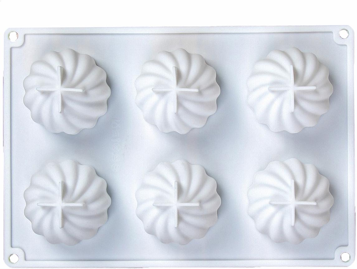 Форма для выпечки и муссовых десертов Доляна Взбитые сливки, 6 ячеек, 28 х 19 х 5 см2582032От качества посуды зависит не только вкус еды, но и здоровье человека. Форма для выпечки и муссовых десертов, 6 ячеек, 28х19х5 см Взбитые сливки, цвет белый — товар, соответствующий российским стандартам качества. Любой хозяйке будет приятно держать его в руках. С нашей посудой и кухонной утварью приготовление еды и сервировка стола превратятся в настоящий праздник.