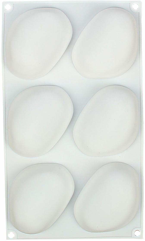 Форма для выпечки и муссовых десертов Доляна Стоун, 6 ячеек, 30 х 18 х 3 см1403961Форма для выпечки из силикона даст вам возможность радовать близких людей кулинарными шедеврами каждый день. Выполненное из качественного материала изделие имеет ряд преимуществ: выдерживает температуру до +230 °C; готовый продукт легко вынимается; предмет легко отмывается как в посудомоечной машине, так и вручную.Большое количество ячеек позволяет быстро приготовить вкусные угощения для большого застолья. Перед готовкой рекомендуется смазывать края посуды небольшим количеством масла. Для извлечения готового продукта пользуйтесь инструментами из дерева, пластика и силикона. Перед первым использованием тщательно промойте теплой водой. Как выбрать форму для выпечки – статья на OZON Гид.
