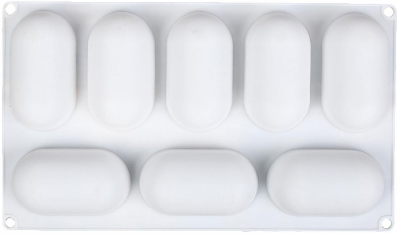 Форма для выпечки и муссовых десертов Доляна Раузи, 30 х 17,5 х 3,5 см, 8 ячеек1403958От качества посуды зависит не только вкус еды, но и здоровье человека.Форма для выпечки и муссовых десертов Доляна - товар, соответствующийроссийским стандартам качества. Любой хозяйке будет приятно держать его вруках. С такой формой приготовление еды и сервировка стола превратятся внастоящий праздник.