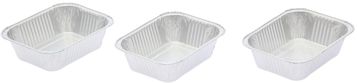 Форма для выпечки из фольги Доляна, 250 мл, 3 шт2518929От качества посуды зависит не только вкус еды, но и здоровье человека. Набор форм для выпечки из фольги 250 мл, 3 шт — товар, соответствующий российским стандартам качества. Любой хозяйке будет приятно держать его в руках. С нашей посудой и кухонной утварью приготовление еды и сервировка стола превратятся в настоящий праздник.