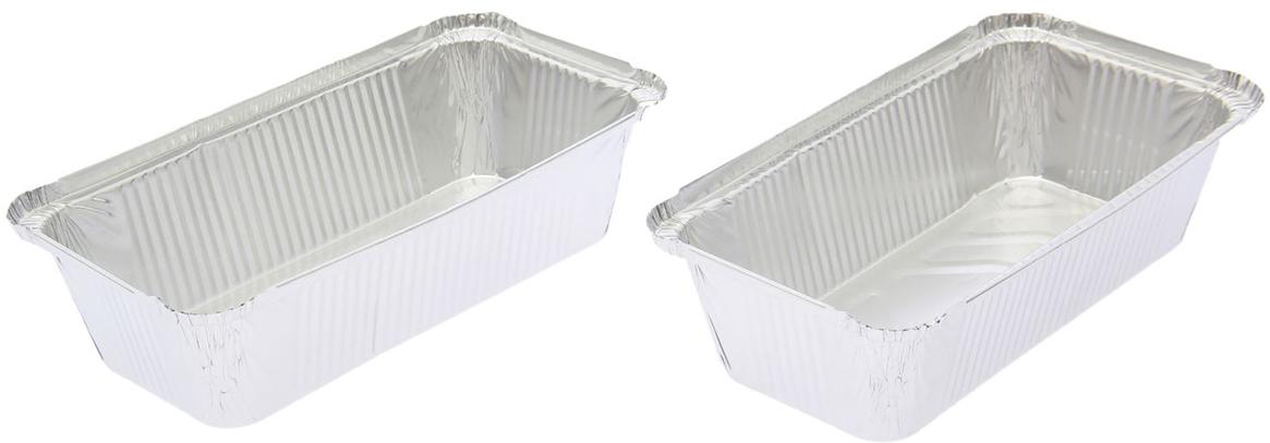 Форма для выпечки из фольги Доляна, 865 мл, 2 шт2518932От качества посуды зависит не только вкус еды, но и здоровье человека. Набор форм для выпечки из фольги 865 мл, 2 шт — товар, соответствующий российским стандартам качества. Любой хозяйке будет приятно держать его в руках. С нашей посудой и кухонной утварью приготовление еды и сервировка стола превратятся в настоящий праздник.