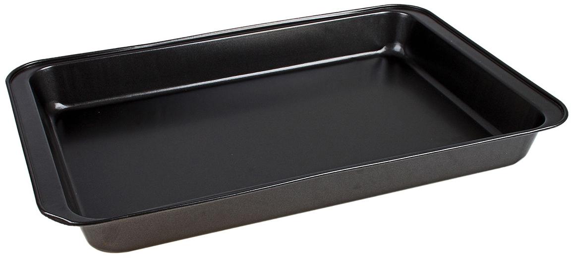 Форма для выпечки Доляна Прямоугольник. Жаклин, с антипригарным покрытием, 47 х 32 х 5 см583810Форма для выпечки с антипригарным покрытием — один из самых важных предметов на кухне хорошей хозяйки. С качественной посудой радовать домашних пирогами, запеканками и прочей вкуснятиной вы сможете хоть каждый день. Традиционная форма делает предмет подходящим для приготовления самых популярных блюд. Достоинства: углеродистая сталь обладает высокой механической прочностью и сохраняет эксплуатационные свойства при температуре до 450°С; материал обеспечивает равномерное распределение тепла по всей внутренней поверхности; покрытие предотвращает пригорание пищи; поверхность не впитывает запахов. Перед первым применением рекомендуется тщательно промыть форму. Не используйте высокоабразивные моющие средства и металлические губки. При аккуратном обращении изделие прослужит долгие годы.