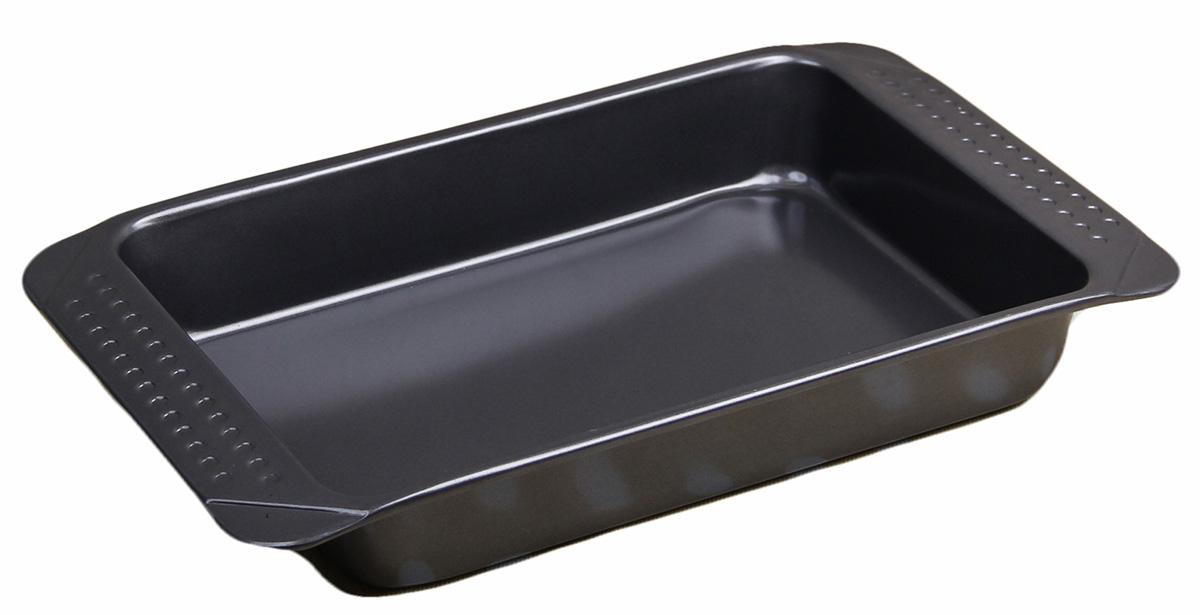 Форма для выпечки Доляна Прямоугольник. Тильда, с антипригарным покрытием, с ручками, 41 х 25 х 6 см2601016От качества посуды зависит не только вкус еды, но и здоровье человека. Форма для выпечки 41х25х6 см Прямоугольник. Тильда, с ручками, антипригарное покрытие — товар, соответствующий российским стандартам качества. Любой хозяйке будет приятно держать его в руках. С нашей посудой и кухонной утварью приготовление еды и сервировка стола превратятся в настоящий праздник.