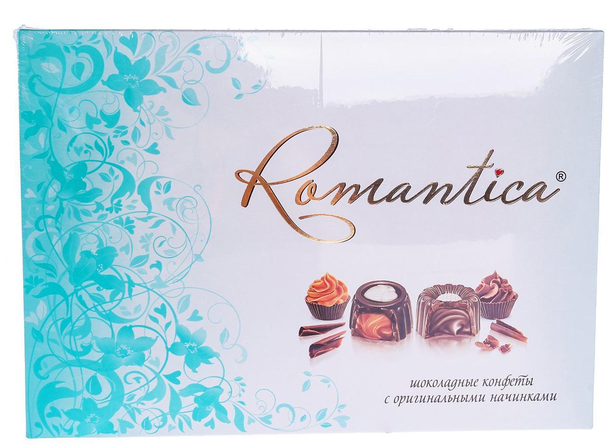 Славянка Romantica набор конфет (изумрудный), 160 г пюре бабушкино лукошко пюре мясо цыплят с гречкой с 6 мес 100 г