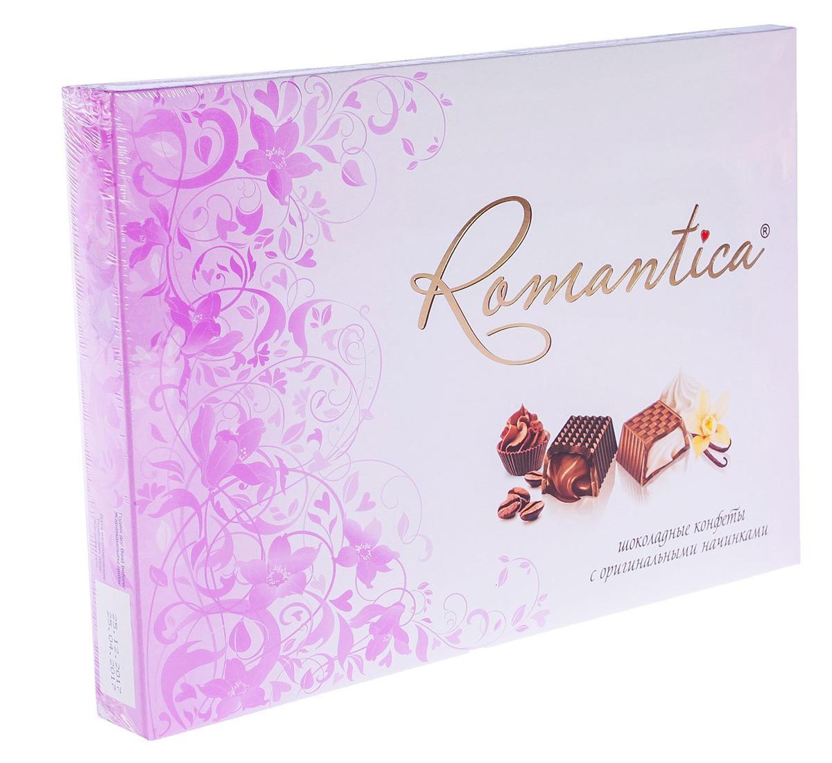 Славянка Romantica набор конфет (розовый), 160 г